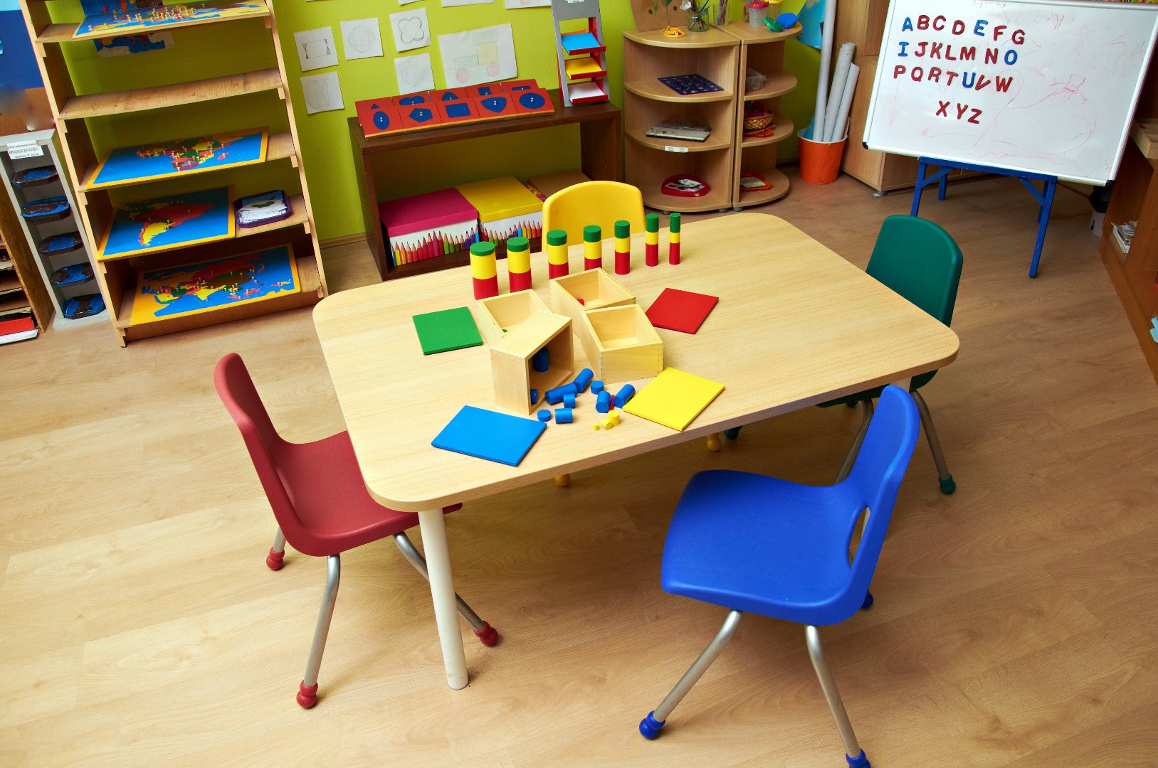 Pic - an infant school classroom learning area