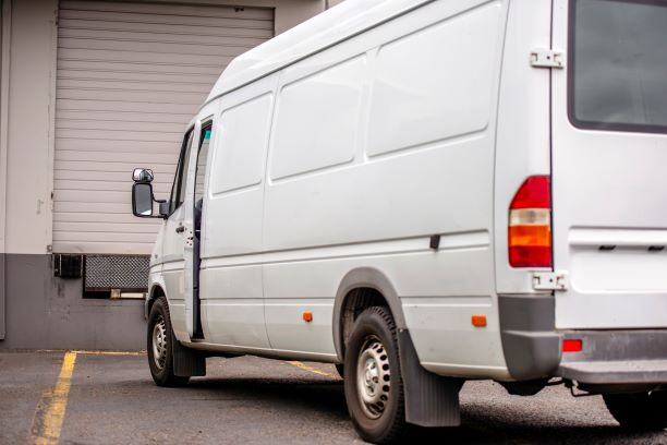 PIC - Van on industrial estate