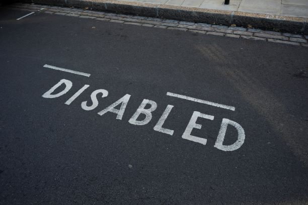 PIC - Disability parking bay