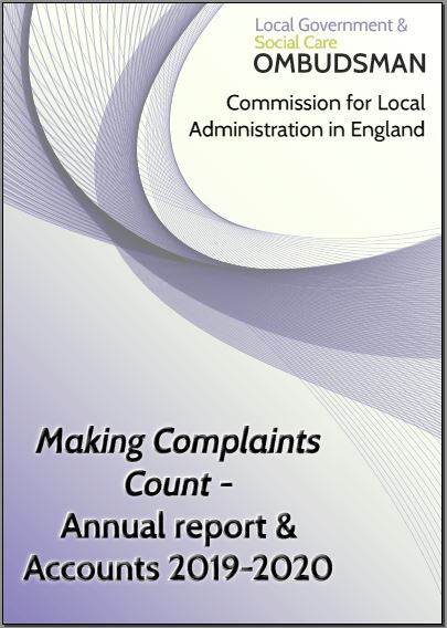 Front cover of Annual Report and Accounts 2019-2020